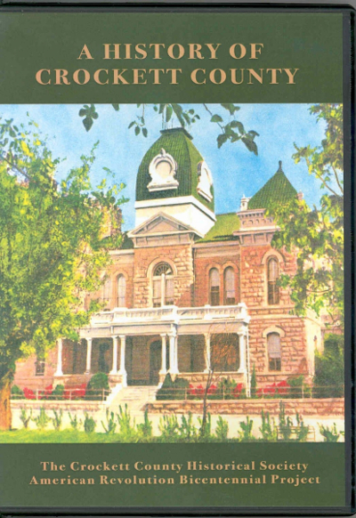 History of Crockett County Book Cover