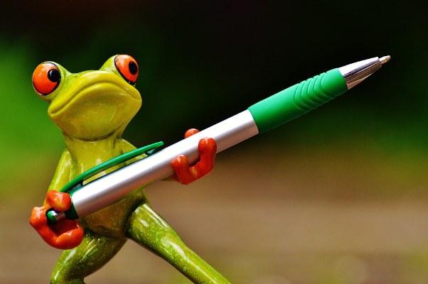frog-writing pen-602x400.jpg